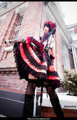 DATE A LIVE Kurumi Cosplay 10