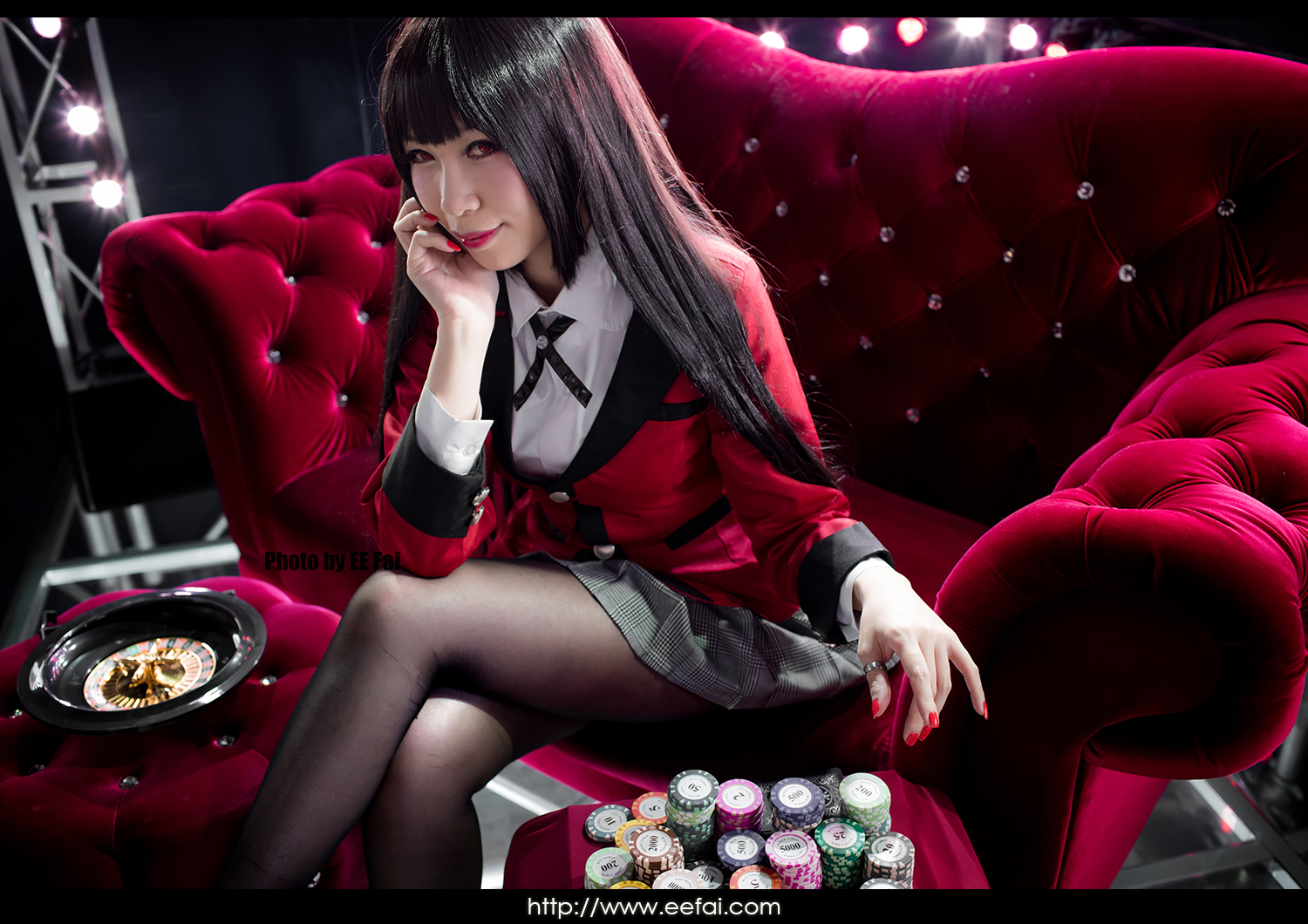 Kakegurui Yumeko Jabami Cosplay 13 by eefai on DeviantArt