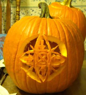 Slenderverse Pumpkin