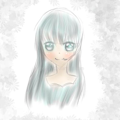 Digitalis sketch by Engeline