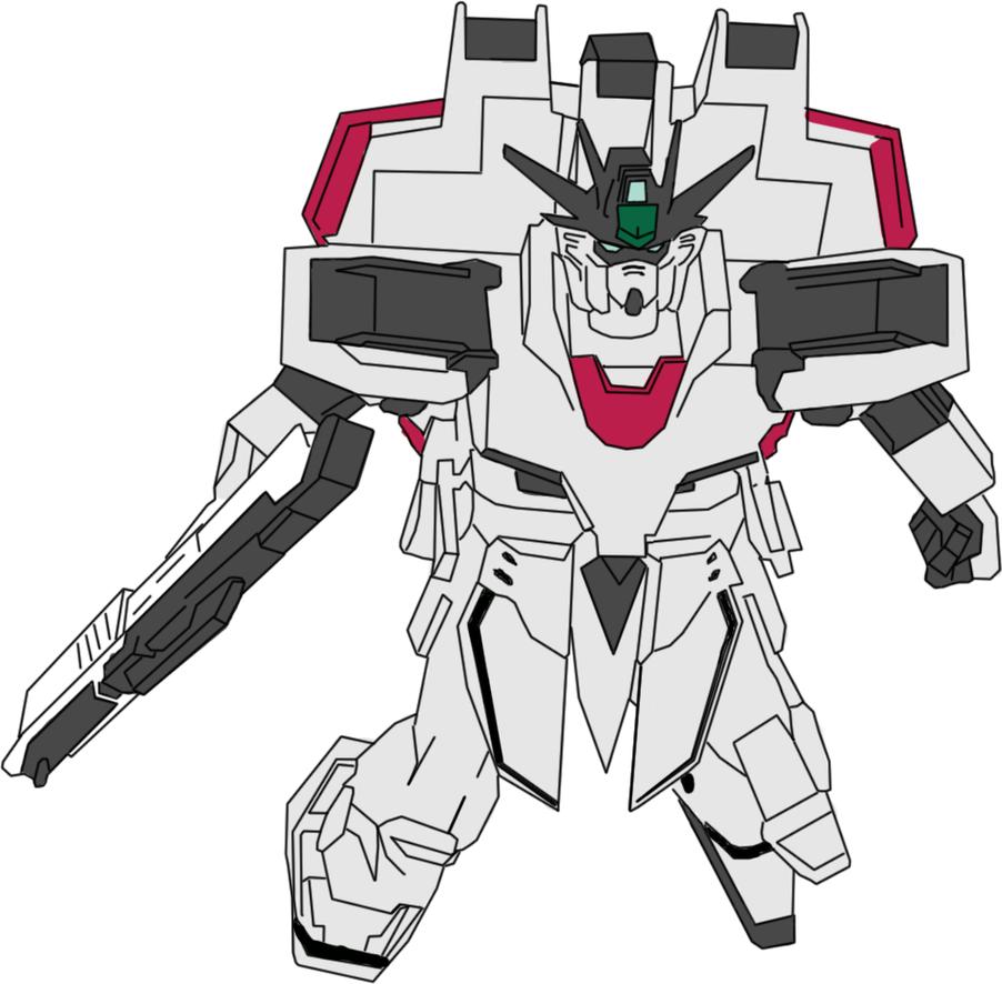 Gertech Gundam by lordvipes
