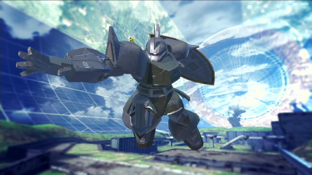 Gundam Breaker 2 - Gelgoog Commander by lordvipes on ...