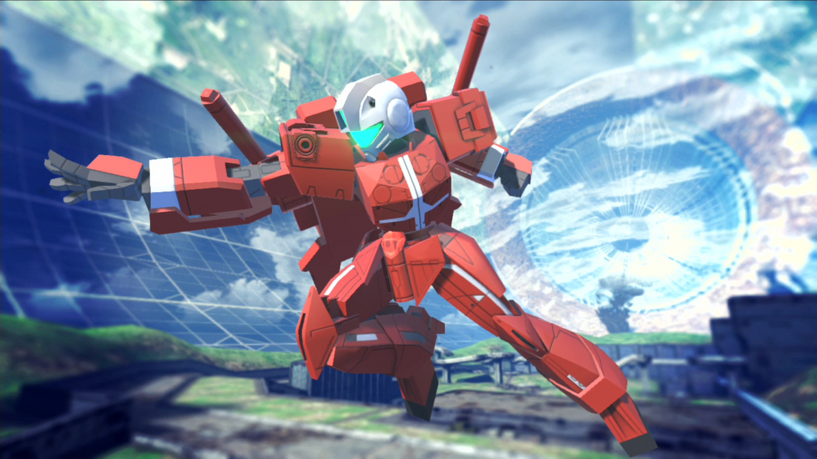 Gundam Breaker 2 - RGM-ID30N by lordvipes