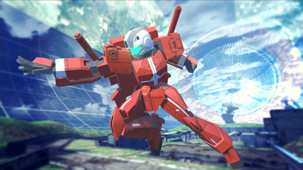 Gundam Breaker 2 - RGM-ID30N by lordvipes