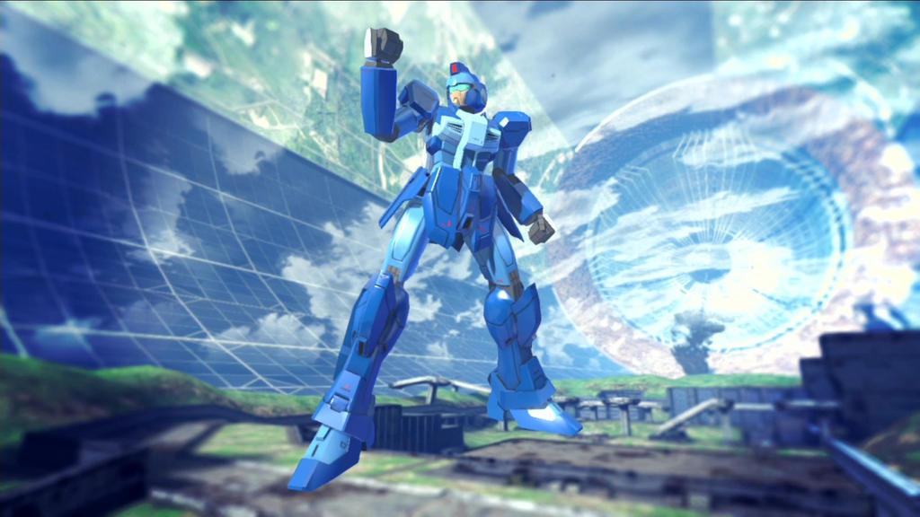 Gundam Breaker 2 - Megaman X by lordvipes