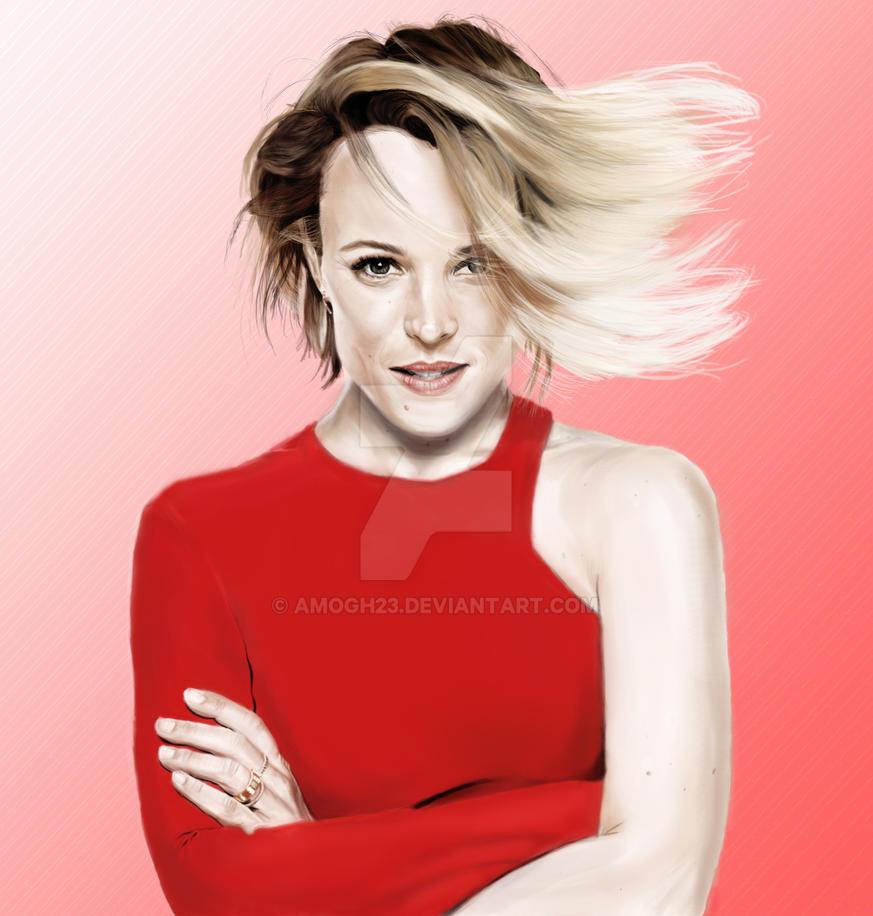 Rachel McAdams by amogh23