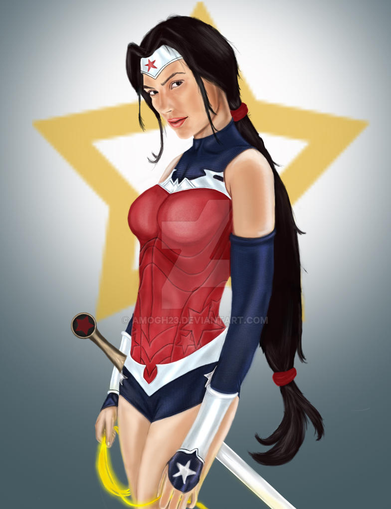 Wonder Woman by amogh23