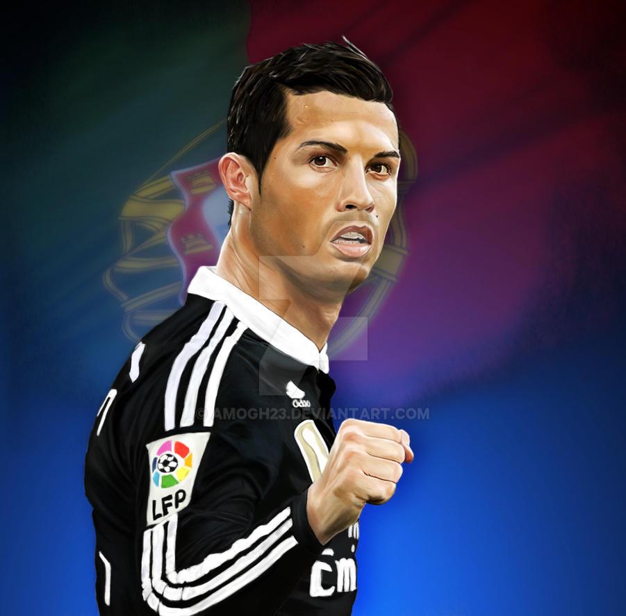 Cristiano Ronaldo by amogh23