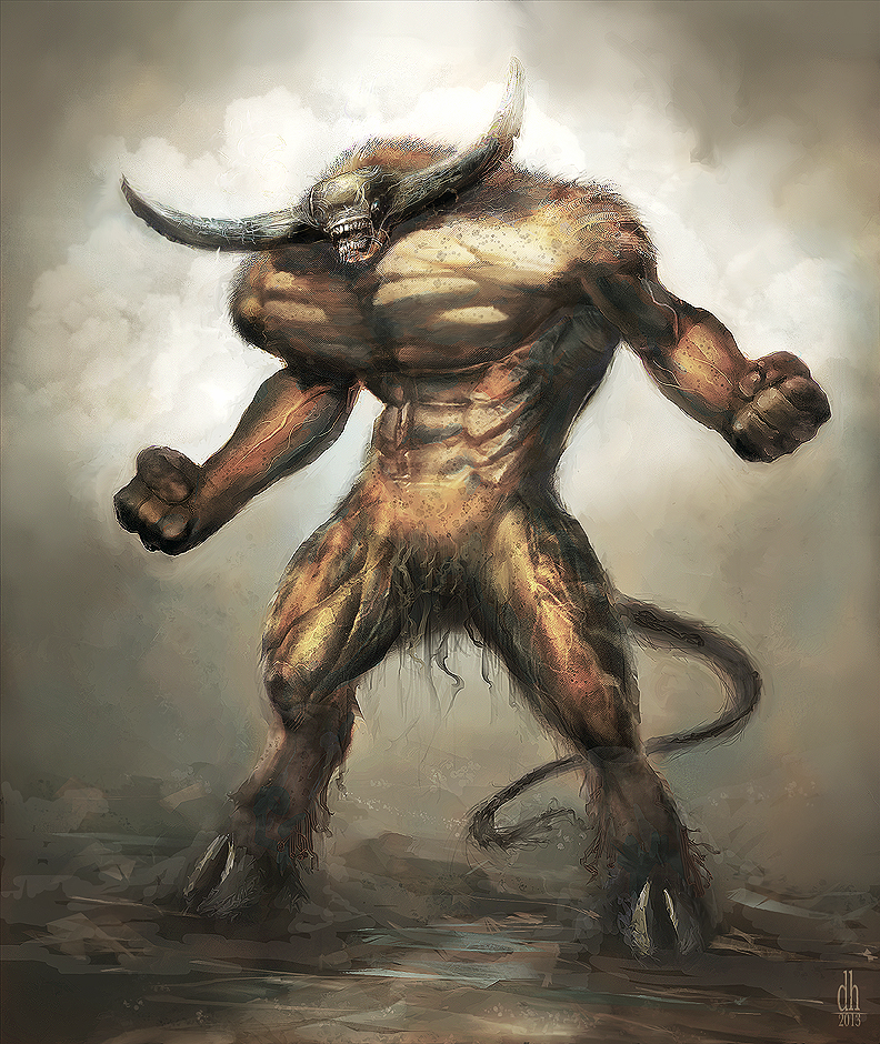 Los 12 monstruos del Zodíaco Taurus_by_orion35-d8597zu