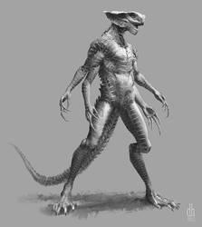 Taybuse - (Alien concept variation #3)