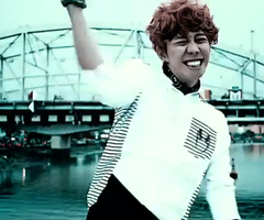 park kyung being cute as usual (gif) by vic-fuentes