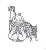 Star Wars Cat by caitiedidd