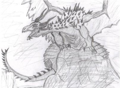 Dragon by caitiedidd