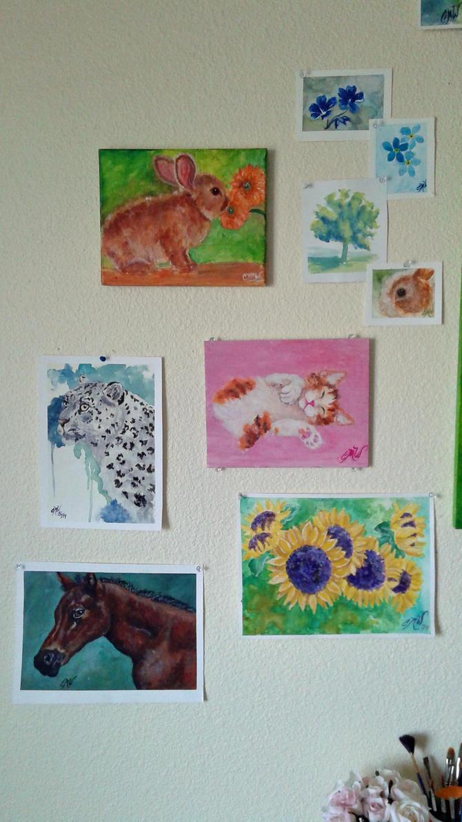 Wall Art Close Up 2 by caitiedidd