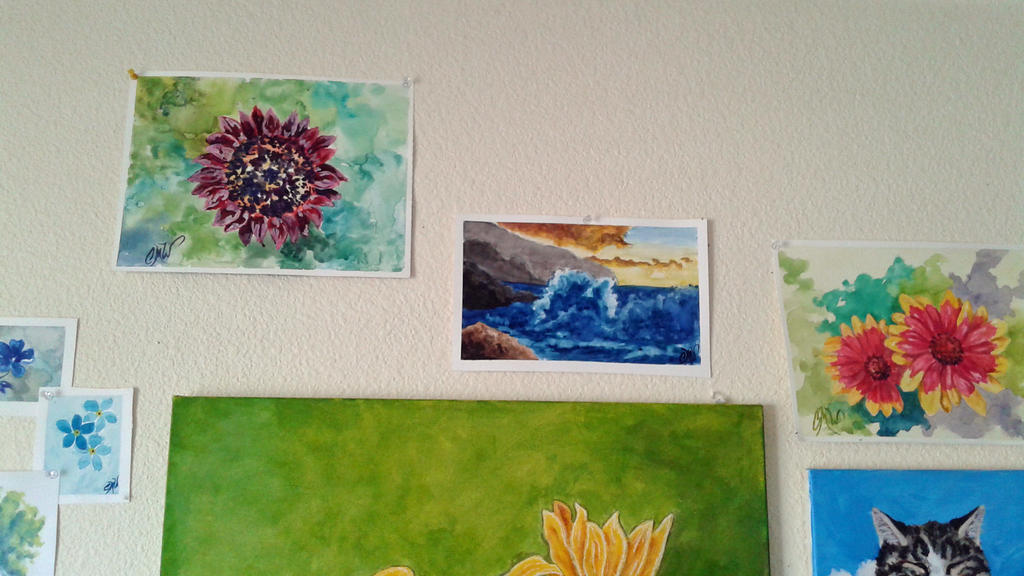 Wall Art Close Up 3 by caitiedidd
