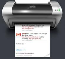 tweet printer