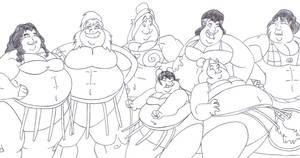 Korra Sumo Group Pic