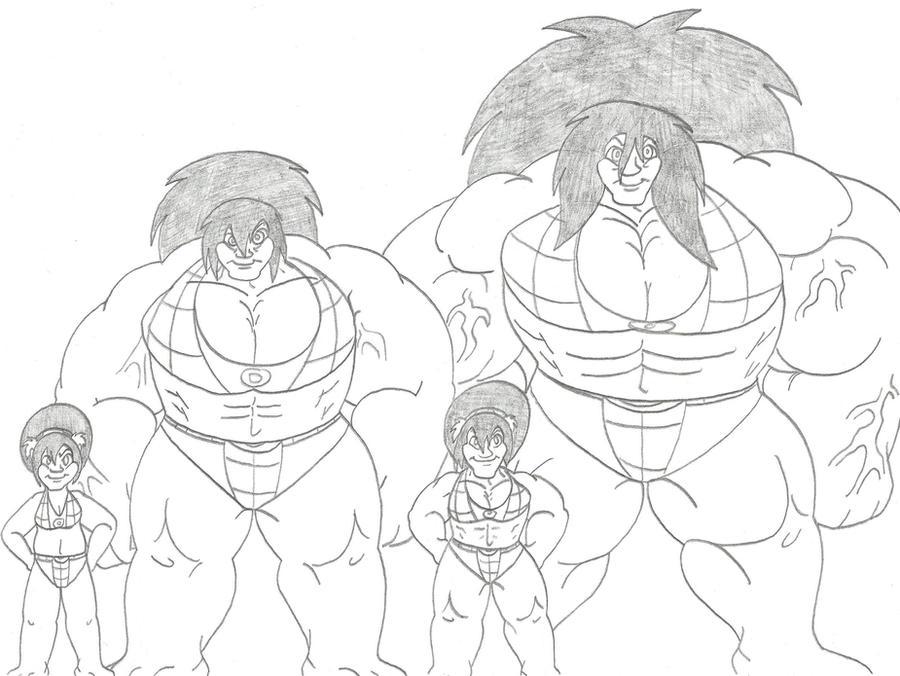 Hulk Toph Size Comparison by CatsTuxedo