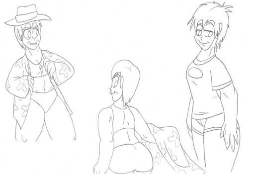 More Haruhi Sketches