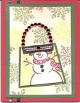 Christmas Card Frosty 2 by ladycathryn