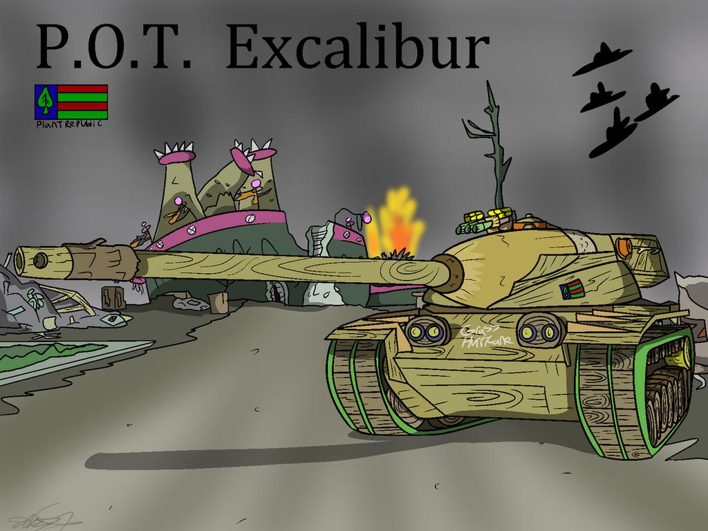 POT Excalibur by Nyanbonecrush