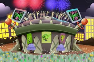 Brainzball Staduim Grand Opening by Nyanbonecrush
