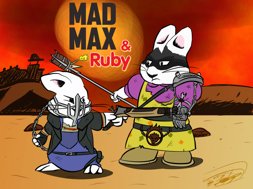 Mad Max and Ruby by Nyanbonecrush