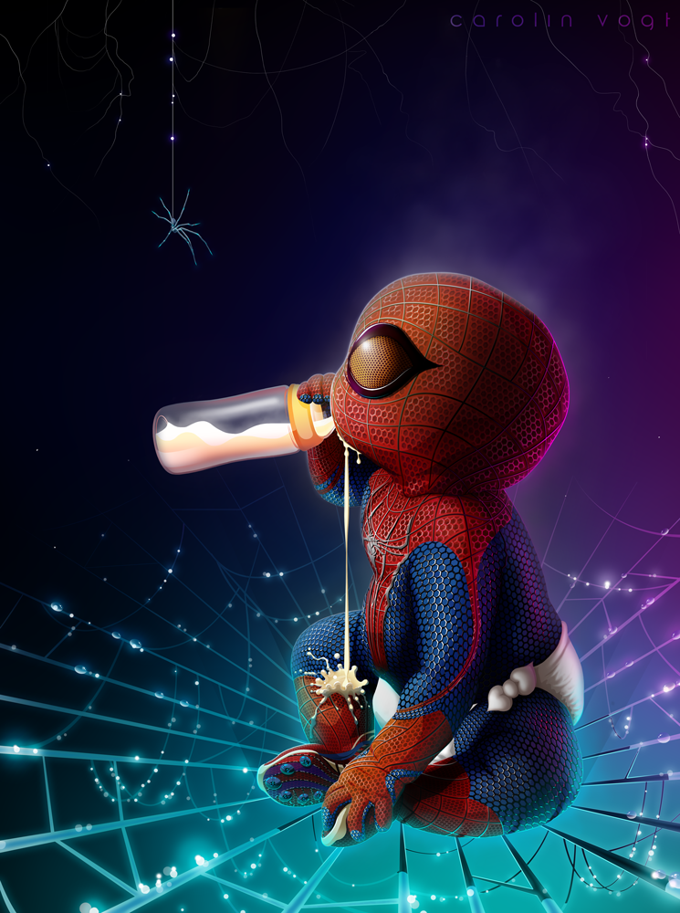 Spidey by CarolinVogt