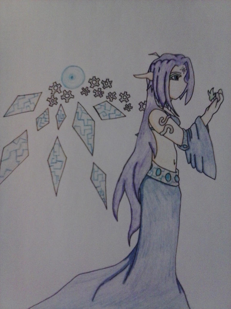 Gear angel by AuraLeighDragon