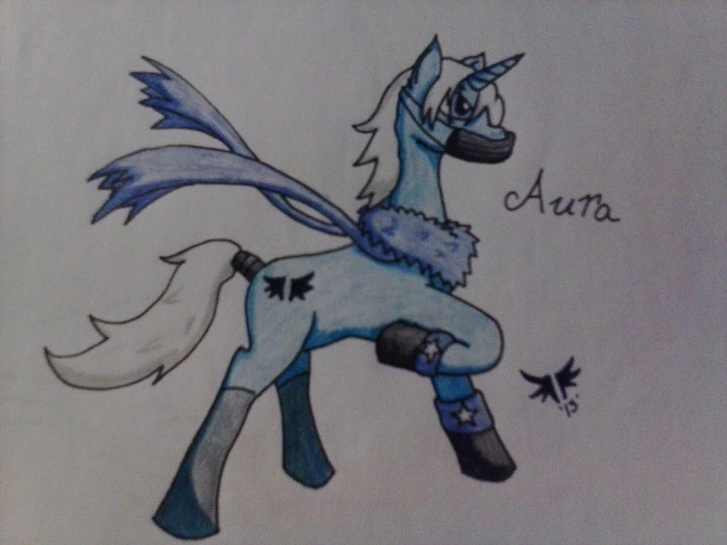My Oc for MLP by AuraLeighDragon
