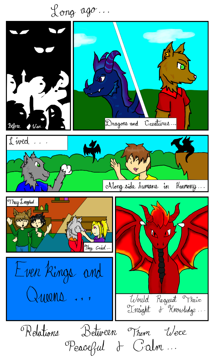 Gaia Origins: The Hunter Clans  page 1 by AuraLeighDragon