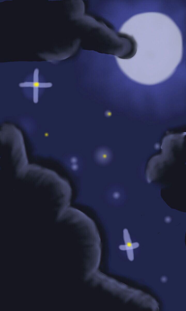 Night Sky by AuraLeighDragon