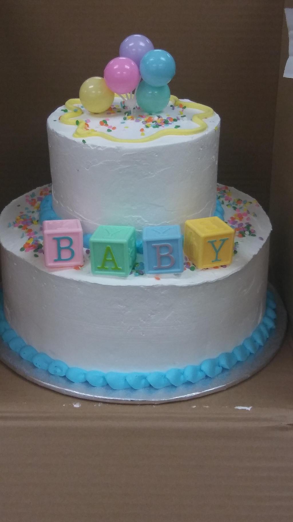Baby shower cake by AuraLeighDragon