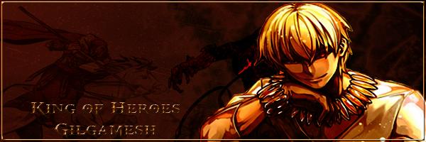 king of heroes gilgamesh signature by kloneortega on deviantart