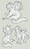Free Gryphon Lines by S-Nova