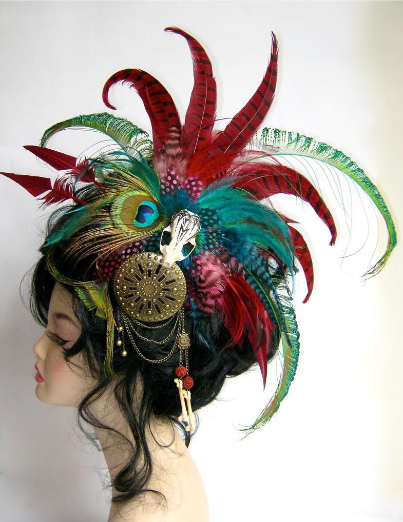 Tribal Fusion Headdress by Genevieve-Amelia