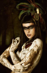 Tribal Portrait II by Genevieve-Amelia