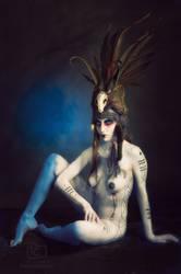 Tribal Portrait VIII by Genevieve-Amelia