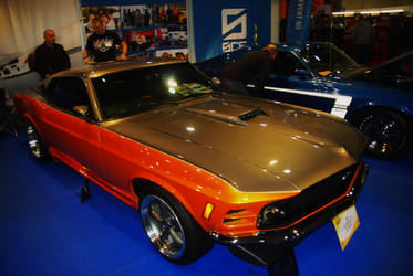 Shelby Mustang Old Style by Heavymedicated