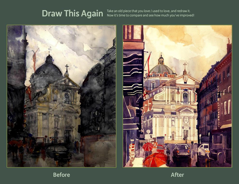 Draw This Again : Il Gesu, Rome by takmaj