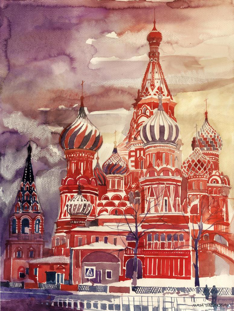 Moscow by takmaj