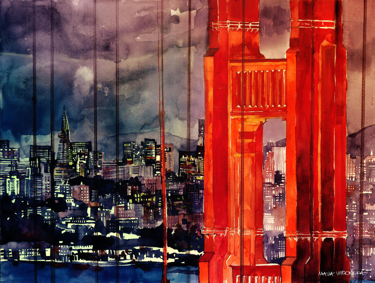Golden gate bridge by takmaj