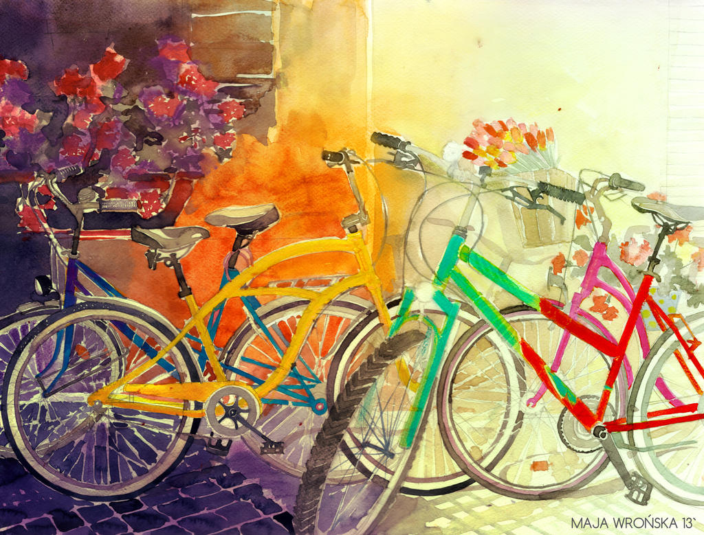 bicycles by takmaj