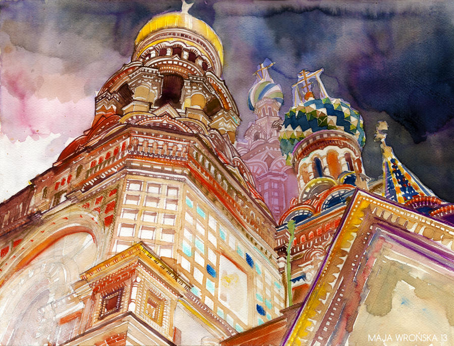 Saint Petersburg by takmaj