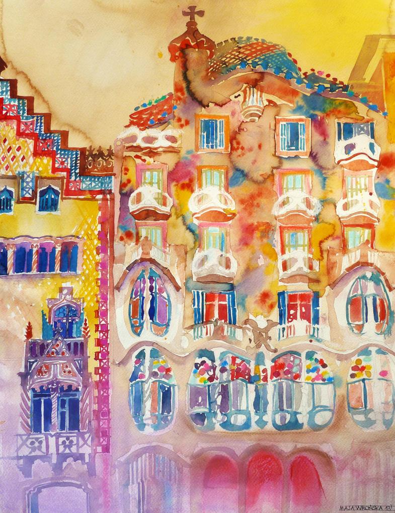 Casa Batllo by takmaj