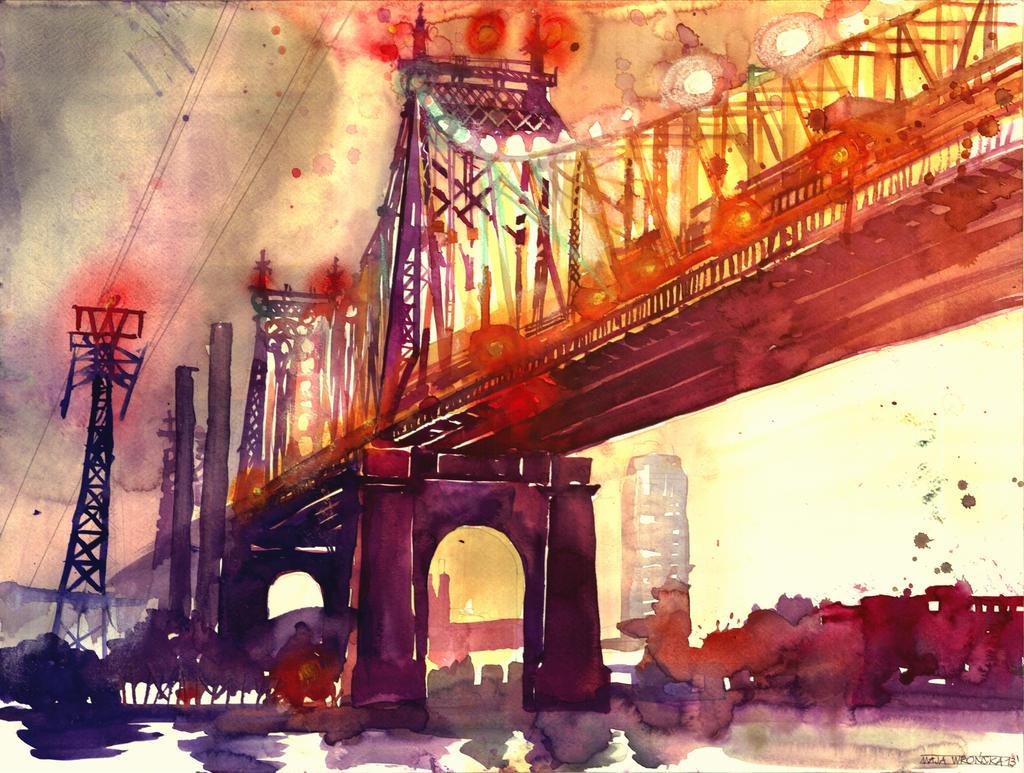 Queensboro Bridge by takmaj