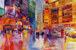 Walk in New York by takmaj