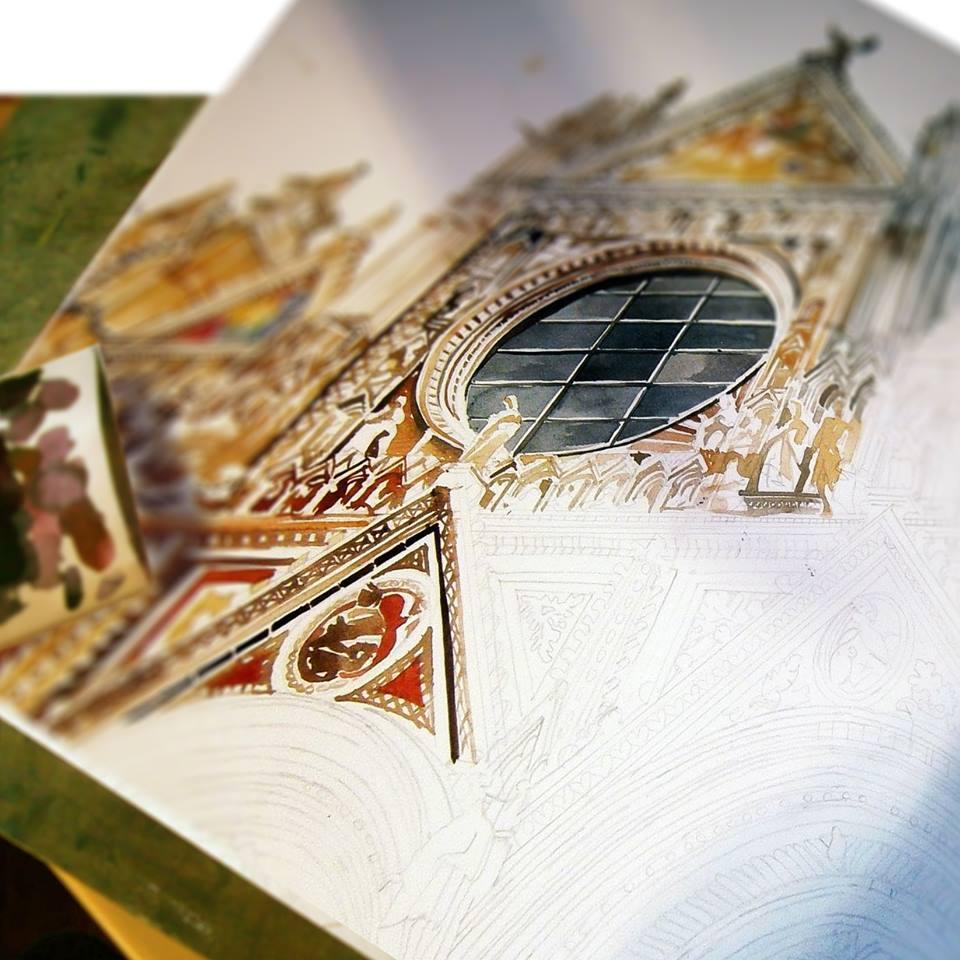 making of Siena by takmaj