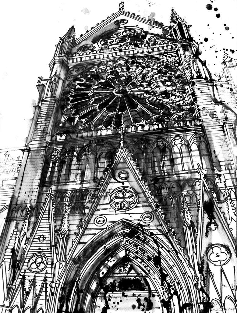 Notre Dame By Takmaj On DeviantArt