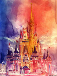 Cinderella Castle by takmaj